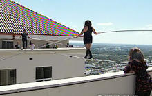 Tightrope Walkers Defy Death