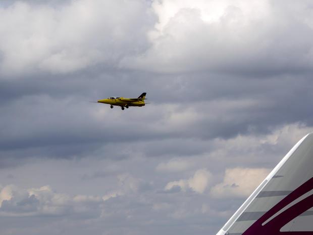Flying high at the Farnborough Air Show