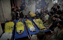 Four Palestinian children killed by Israeli strike