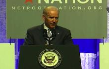 "Joe Biden: ""Apparently"" Malaysia Airlines jet was ""shot down"" in Ukraine"