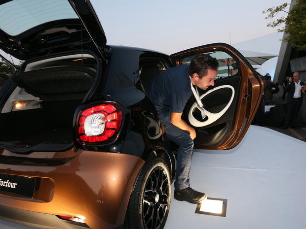 Tiny Smart car gets a revamp