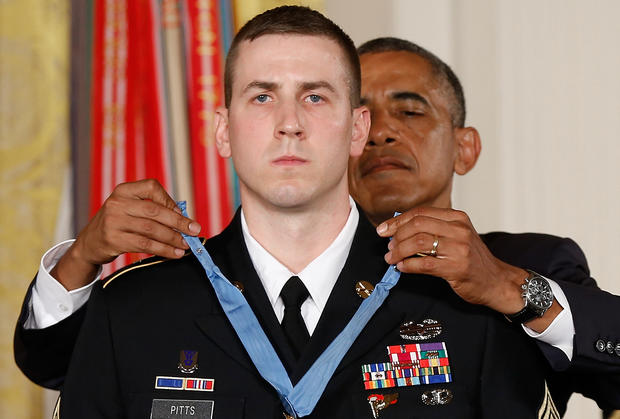 Ryan Pitts awarded the Medal of Honor