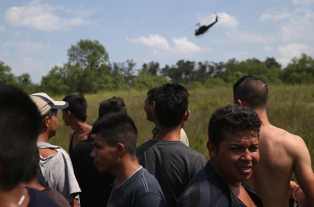 Patrolling the Texas border