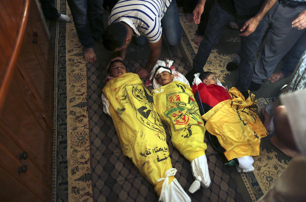 Mourning the dead in the Middle East