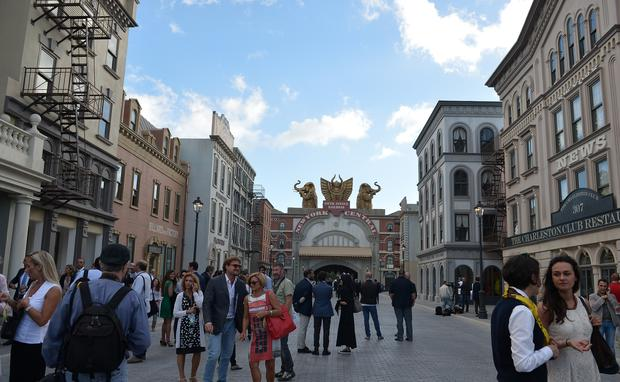 Cinecitta World, a movie theme park for Rome