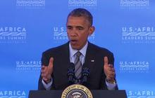 """On Ebola vaccine, Obama says, """"we've got to let the science guide us"""""""