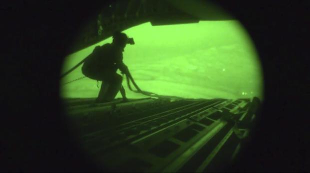 U.S. airdrops aid in Iraq