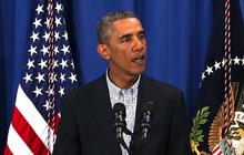 Obama urges restraint after Michael Brown shooting
