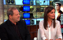 "Katie Holmes and Harvey Weinstein on bringing ""The Giver"" to big screen"