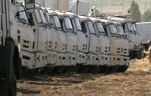 Russia raises suspicion with cargo near Ukraine border