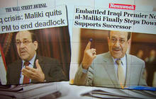 Embattled Iraqi prime minister steps down