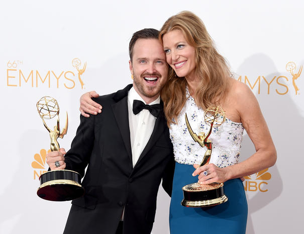 Backstage at the Emmys 2014