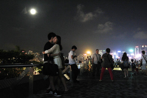 Mid-autumn festival in China