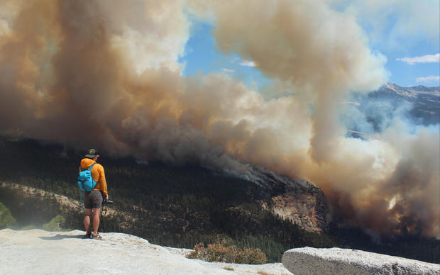 Fire in Yosemite