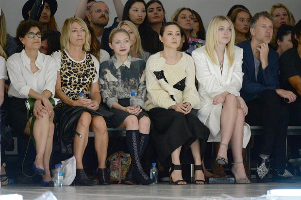 Stars at New York Fashion Week Spring 2015