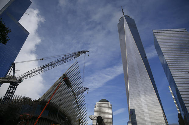 One World Trade Center nears completion