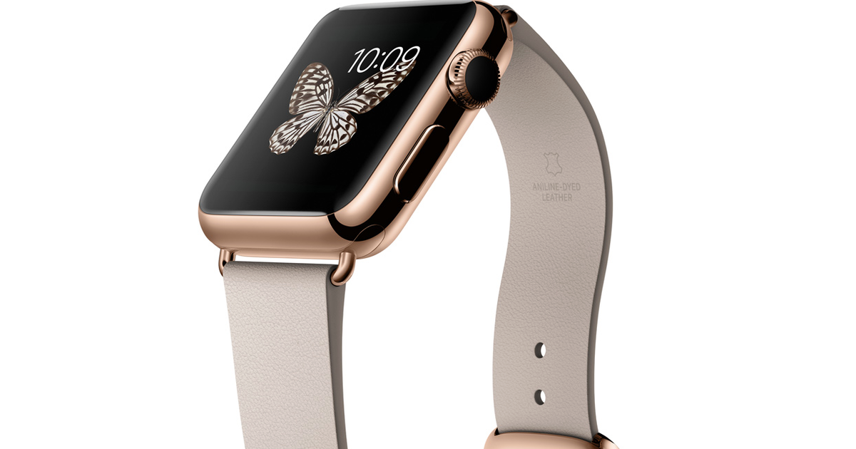 how much will the 18 karat gold apple watch cost   cbs news