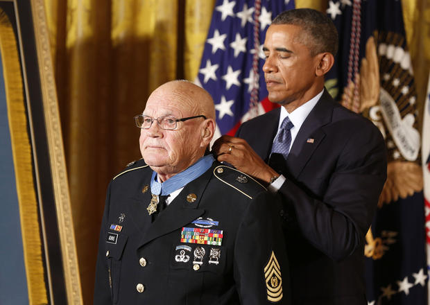Medal of Honor given to two Vietnam heroes