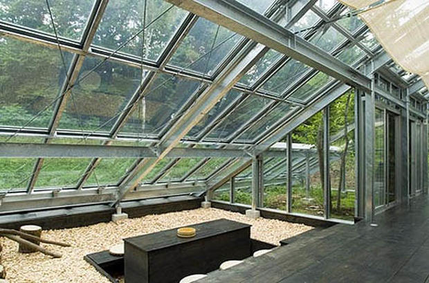 5 greenhouses that are actually homes cbs news for Architectural greenhouse