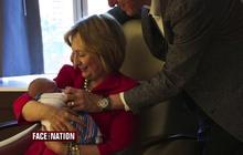 Will new grandma Hillary Clinton run for president in 2016?