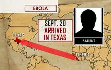 CDC: 1st case of Ebola diagnosed in U.S.