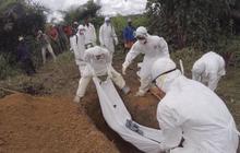 Burying Ebola victims in rural Liberia