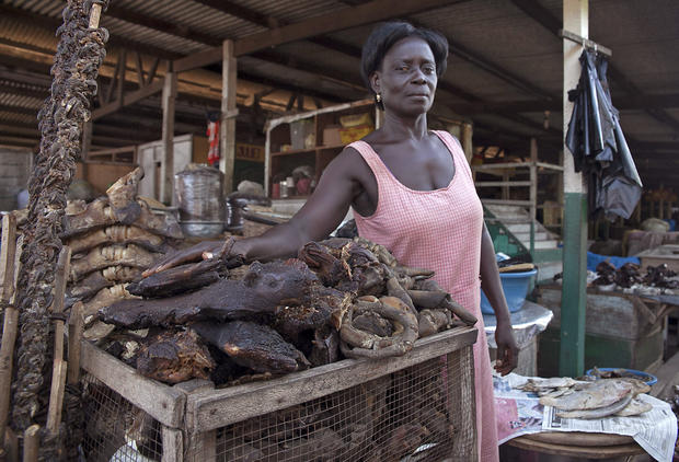 Ebola Scares West Africans Away From Bush Meat Cbs News