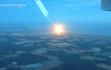 Watch: Small plane catches Antares explosion on video