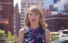 Taylor Swift gets heat for NYC ad
