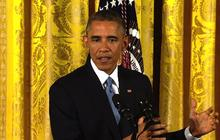 """Obama: """"I will not sign"""" a bill repealing Obamacare"""