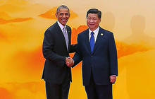 Obama meets with rivals Putin and Xi in China