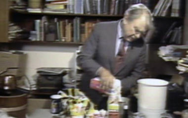 Andy Rooney's homemade Thanksgiving feast