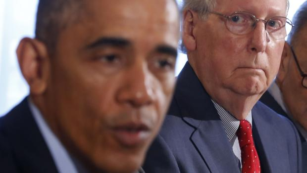 Bourbon summit with obama will happen mcconnell says for U s senate dining room