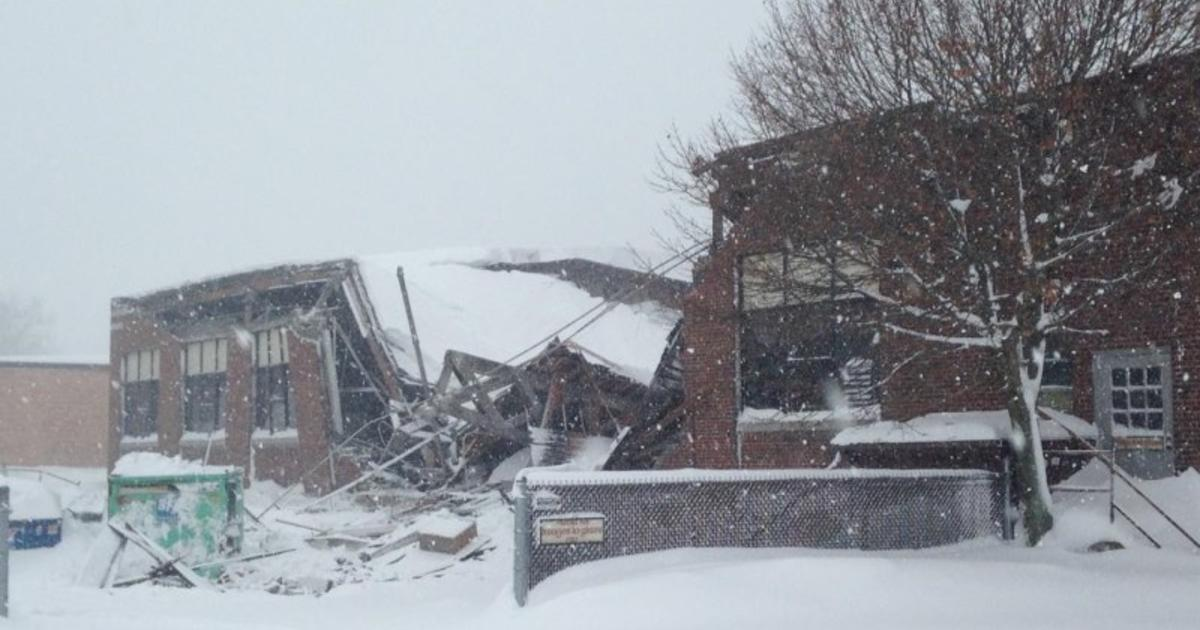 Deadly Snowstorms Cause Roof Collapses In Buffalo Area