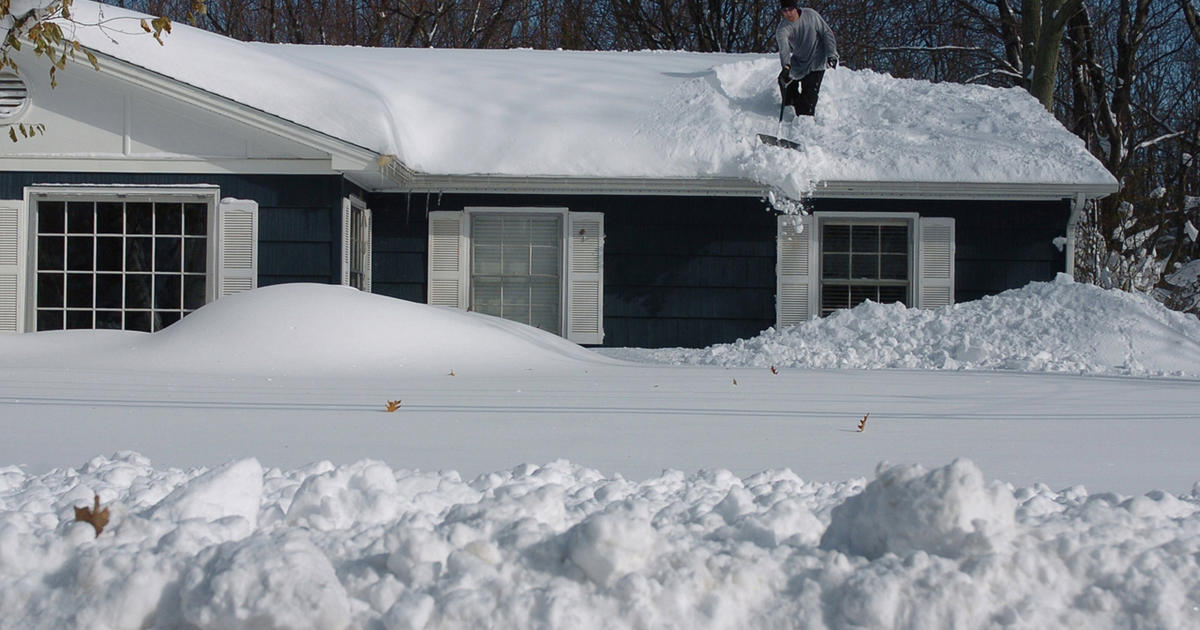 Is Your Home Insured For Winter Storm Damage Cbs News