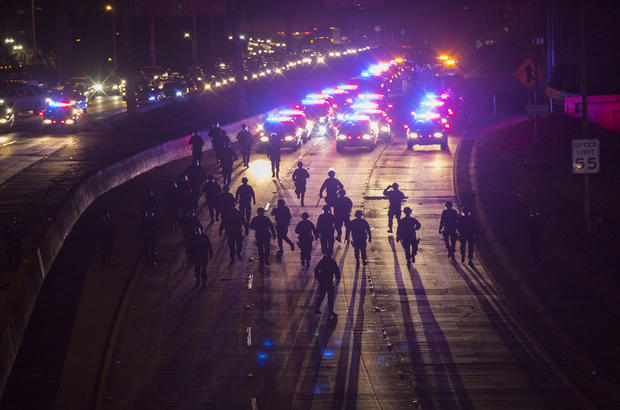 Protests respond to Ferguson decision around the country
