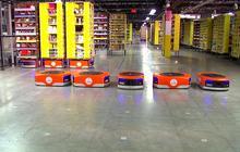 Robots help Amazon tackle Cyber Monday
