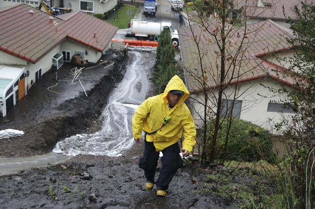 Heavy rain brings flooding, landslides to California