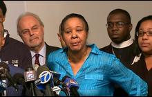 """Eric Garner's widow on accepting officer's condolences: """"Hell no"""""""
