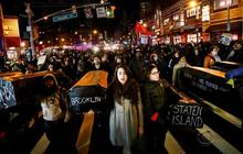 Unlike Ferguson, more public support for Eric Garner