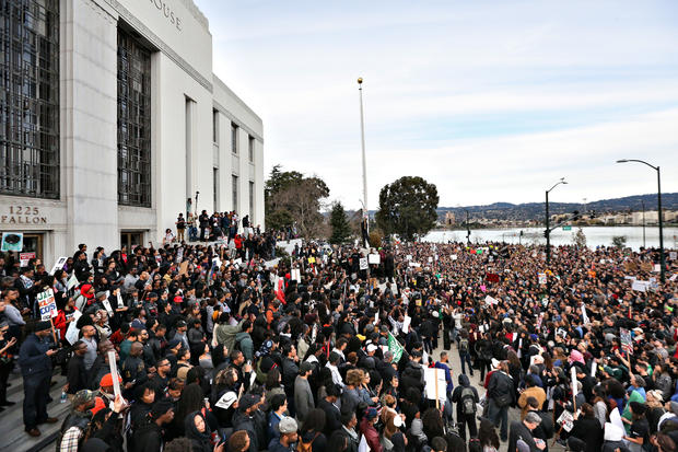 Thousands march against police violence