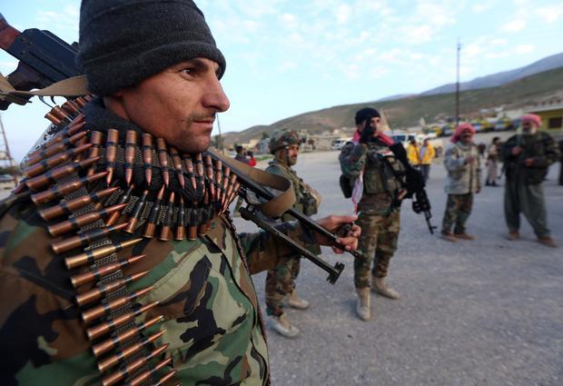 Retaking Mount Sinjar from ISIS