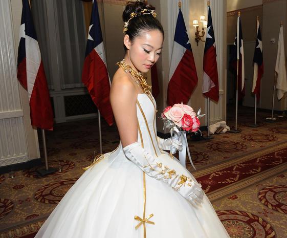 At the International Debutante Ball
