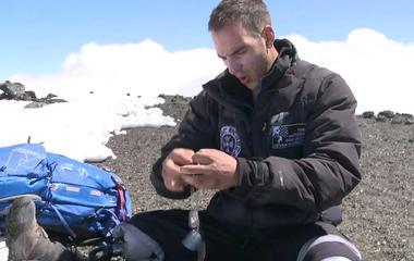 Mark Zambon summits Mt. Kilimanjaro in Tanzania