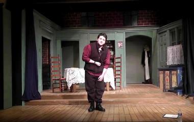 Accused killer Seth Mazzaglia's theatre audition