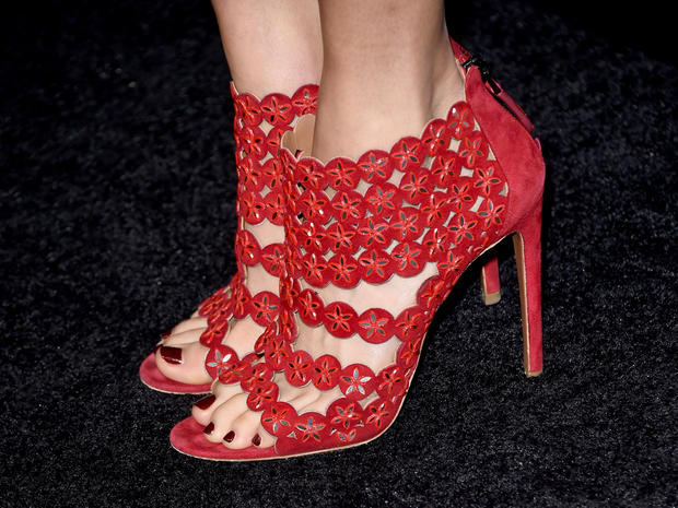 Famous feet: High heels on the red carpet