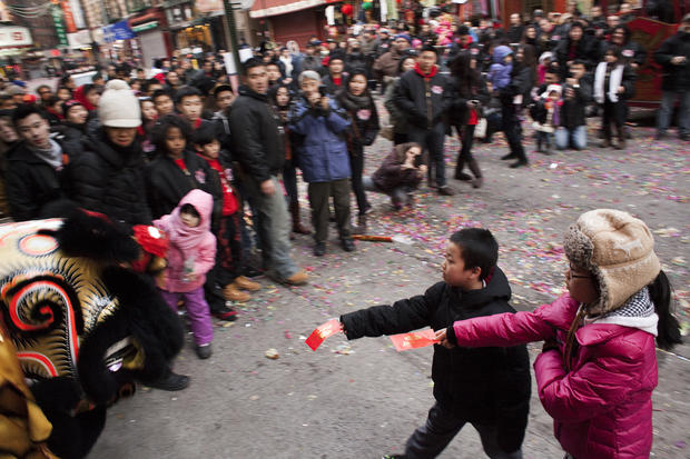 Chinatown young lions celebrate Lunar New Year