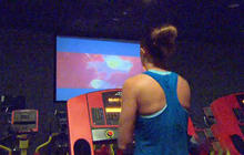 """Put down the popcorn, hop on the treadmill at """"cardio theater"""""""