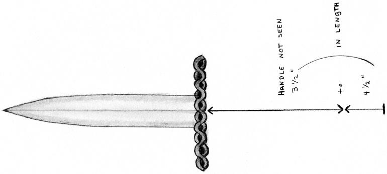 The Lehton's say the intruder was holding a dagger with an ornate hilt, resembling this police sketch.