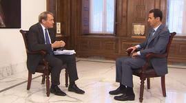 Syrian President Bashar al-Assad on 60 Minutes